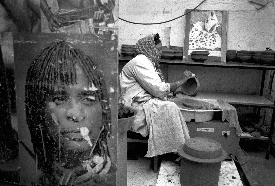 [Aida Muluneh: Clay Woman]